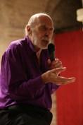 Carlos Montero durante il Concerto a Potenza Picena il 3 ottobre 2015. Foto Luigi Anzalone.