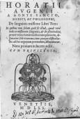 Frontespizio del volume di Orazio Augeni del 1570. ASCPP.