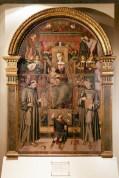 Tavola di Bernardino di Mariotto, del 1506. Foto di Sergio Ceccotti.
