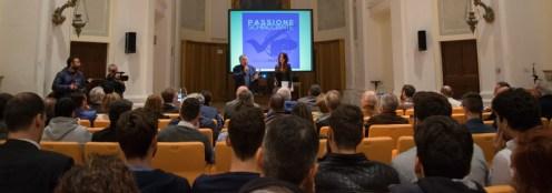 Presentazione del libro Passione Schiacciante - Volley Potentino presso l'Auditorium Scarfiotti di Potenza Picena. Il giorno 23-4-2016.
