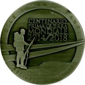 Medaglia dedicata al Caporale Asciutti Alessandro.