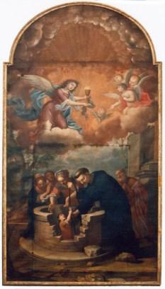 Miracolo del pozzo - sec. XVIII autore ignoto - foto luigi anzalone