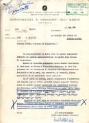Risposta della Soprintendenza ai Monumenti di Ancona per il restauro di Sant'Agostino del 25-5-1074. ASCPP.