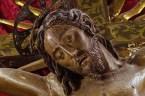 Particolare antico Crocifisso Sec. XVI Monastero Benedettine di Santa Caterina in San Sisto a Potenza Picena - Foto Sergio Ceccotti.