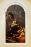 Quadro San Nicola da Tolentino intercede per le anime del Purgatorio. Foto di Sergio Ceccotti.