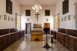 Coretto interno monastero Benedettine di Santa Caterina in San Sisto a Potenza Picena - Foto Sergio Ceccotti.
