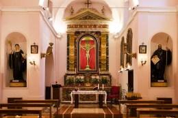 Interno Chiesa di San Sisto - Monastero Benedettine di Santa Caterina in San Sisto a Potenza Picena - Foto Sergio Ceccotti.