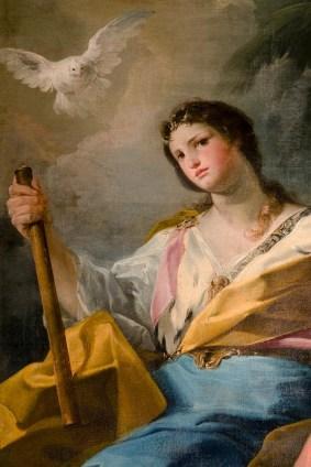 Allegoria della Pace (part.) - Sec. XVII di Corrado Giaquinto