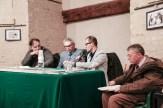 Parla Nico Coppari alla presentazione libro Vincenzo Varagona su p. Pietro Lavini. 11-12-2016 Foto Jonathan Micucci.