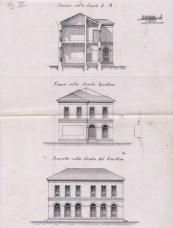 Progetto della Scuola Elementare di Porto Potenza Picena di Aristide Marazzi. A.S.C.P.P.