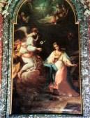Annunciazione Sec. XVI-XVIII. Autore ignoto. Chiesa di S. Tommaso. Foto tratta dal libro Le Clarissie a Potenza Picena, 1993 Op. Cit.