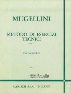 Metodo di esercizi tecnici di Bruno Mugellini Copertina libro IV°