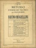Piano degli otto volumi del Metodo di esercizi tecnici di Bruno Mugellini