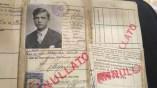 Passaporto Clito: Nº 538 - Data del rilascio: 18-8-1926 Iscriviti per Argentina 1 Settembre 1926. Foto Nirva Ana Carestia.