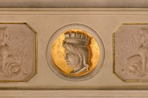 La Regina Maria Adelaide Ranieri. Sala Giunta. Foto Sergio Ceccotti.