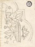 Disegno di Clito Carestia della Scuola d'Arte di Potenza Picena. ASCPP.