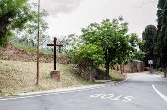 Croce di Via Cappuccini. Foto di Sergio Ceccotti.