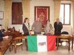 Medaglia della liberazione conferita alla Sig.ra Emilia Latini. Foto Mario Barbera Borroni.