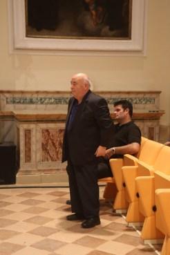 Don Vincenzo Galiè e don Andrea Bezzini. Foto di Luigi Anzalone.