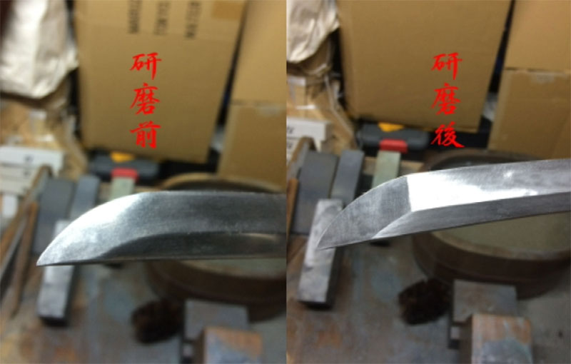 日本刀研磨