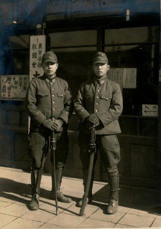 日本の軍人写真