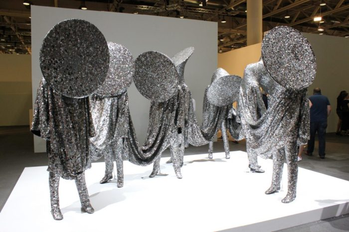 Speak Louder by Nick Cave Art Basel