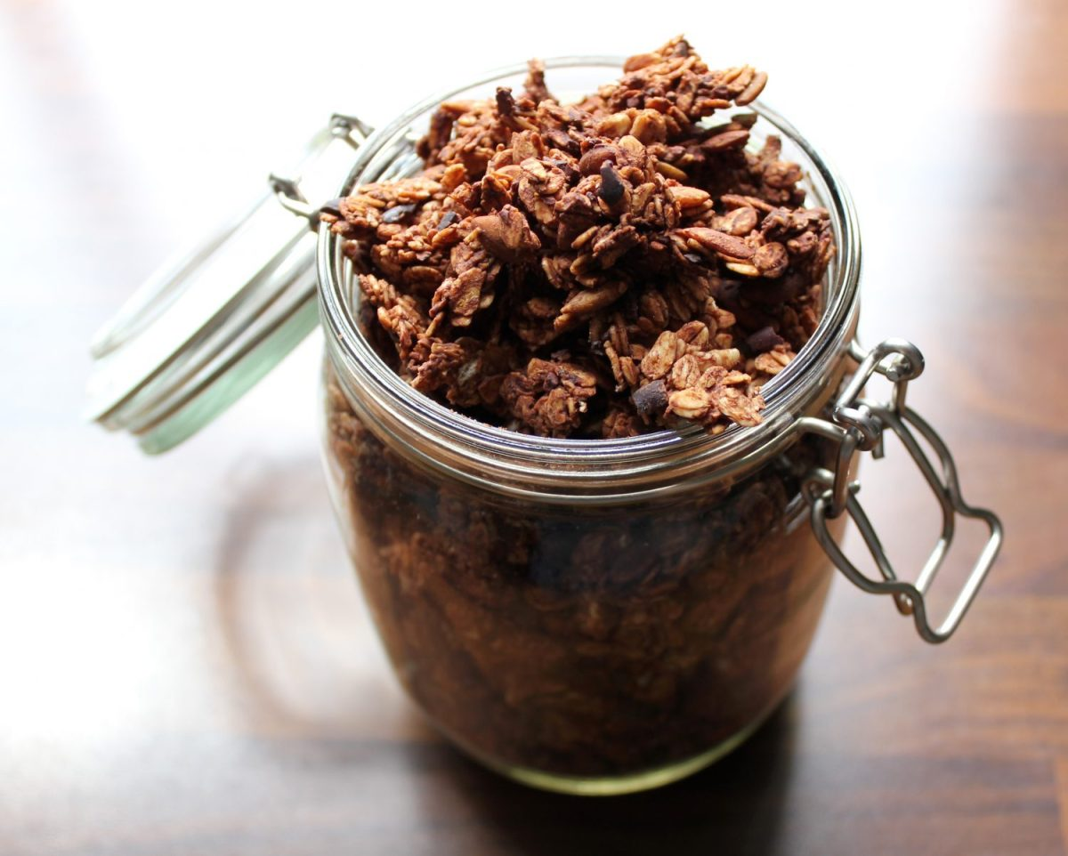 Recipe: Irresistible Chocolate Granola