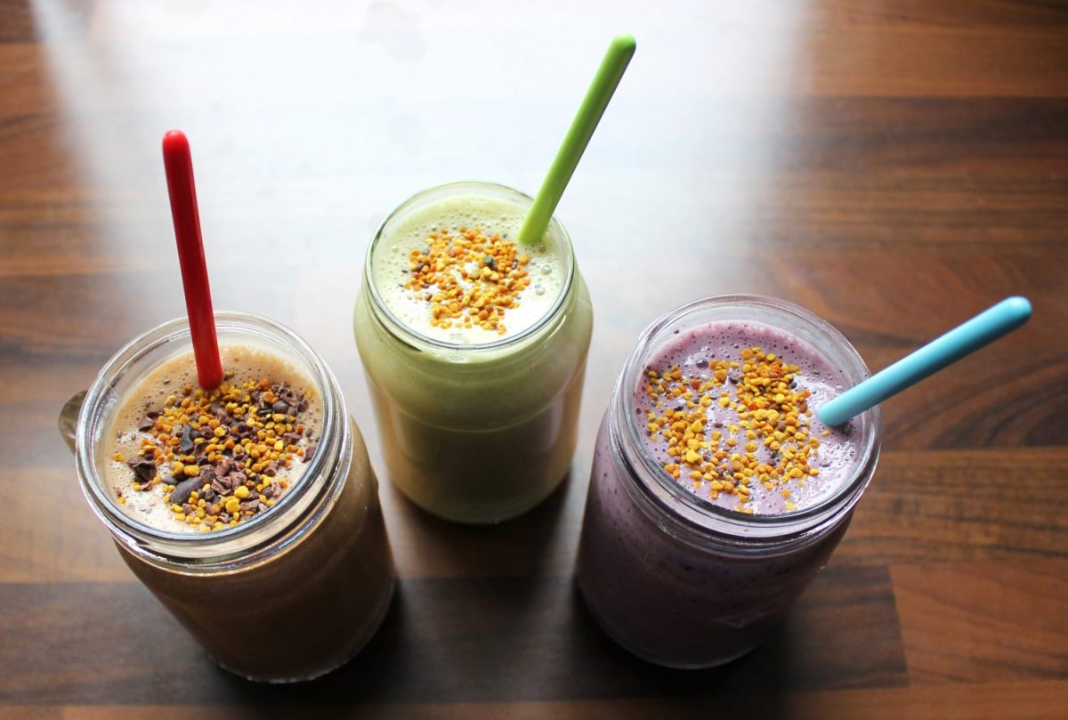 Three Yummy Breakfast Smoothies