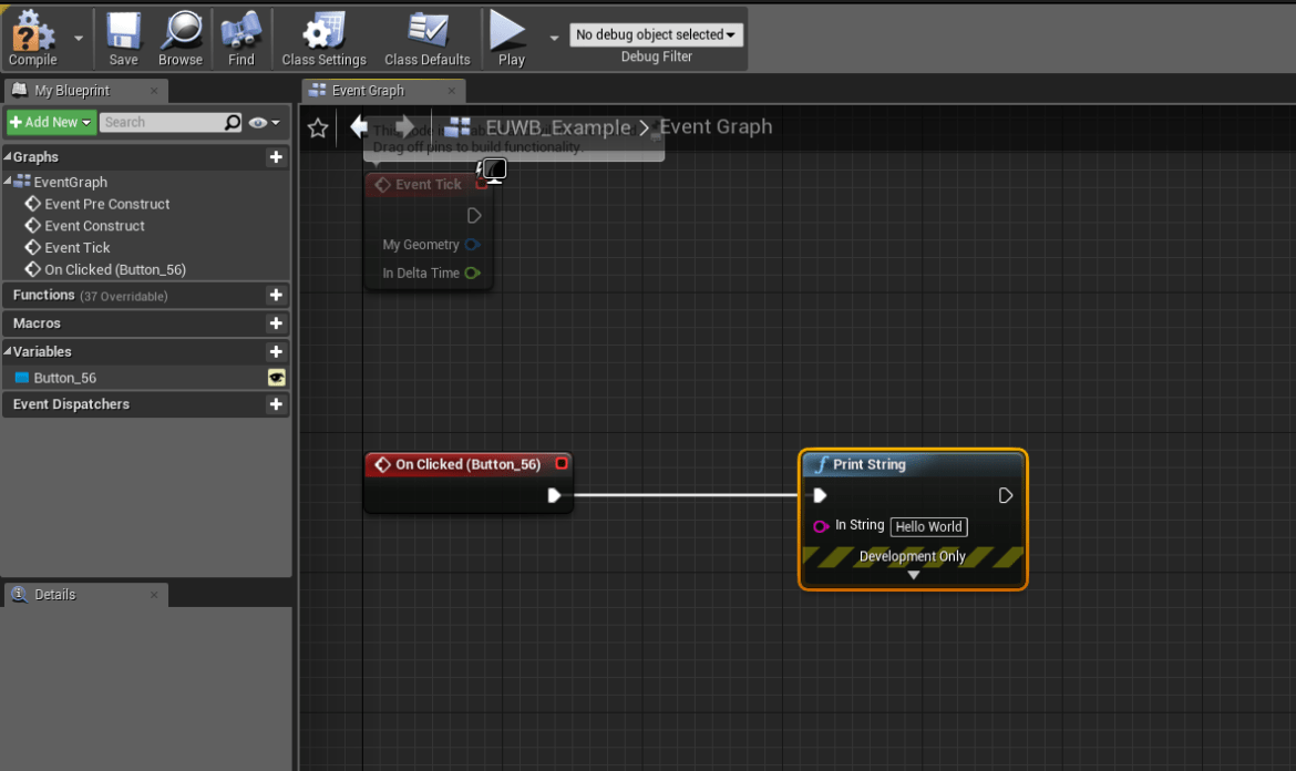 UE4 - Editor widgets with UMG (4 22) - Isara Tech