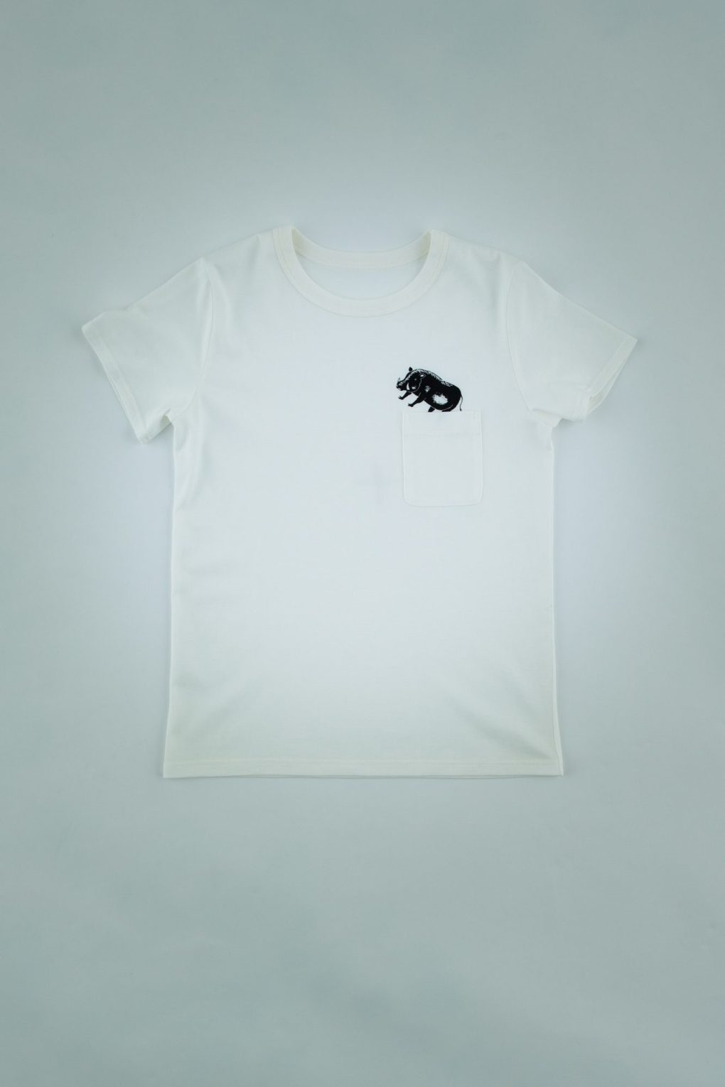 Printed T-shirt with pocket