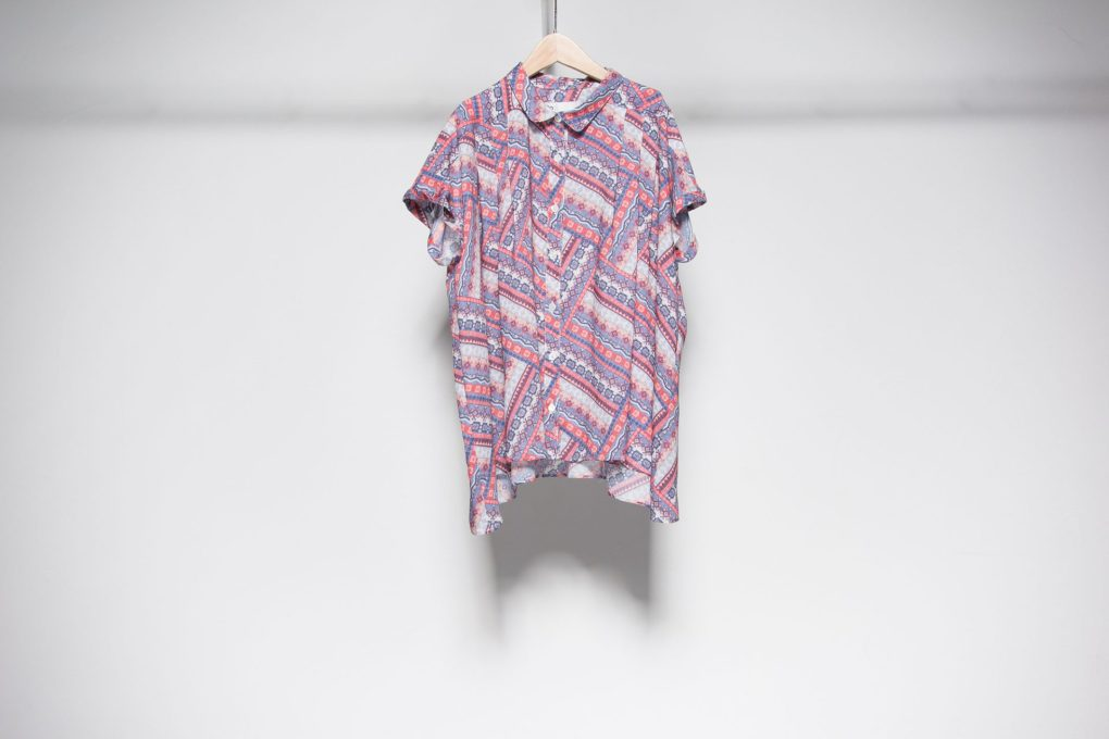 Tuck blouse (original) print