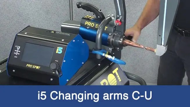 i5 changing arm