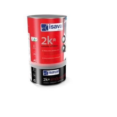 2 КР двухкомпонентная полиуретановая краска лак для сложных поверхностей ПВХ, оцинковка, цветмет, бетон