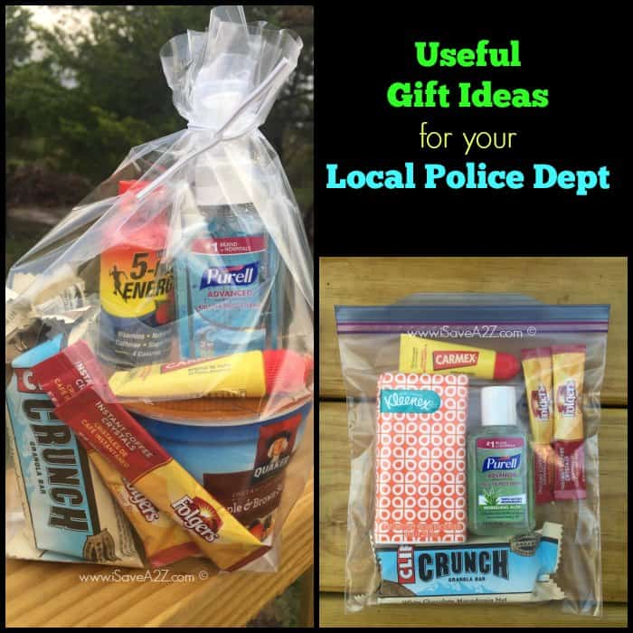 Small Appreciation Gift Ideas For Your Local Police