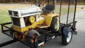 Guide to Buying and Restoring Vintage Garden Tractors Part
