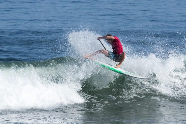 Sean Poynter, Medallista de Oro de la ISA de SUP Surfing en 2013, encabezó el Equipo de EE.UU. y competirá por el Oro el viernes cuando se decidirán los nuevos Campeones Mundiales de la ISA de SUP Surfing. Foto: ISA/Ben Reed