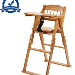 Height Adjustable High Chair Baby Eastlake Rocking Top 10 Best Wooden Chairs In 2019 Reviews Folding With Tray Bamboo