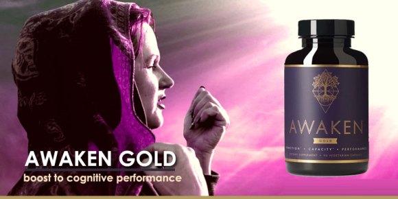 Awaken Gold Premium Nootropic Supplement