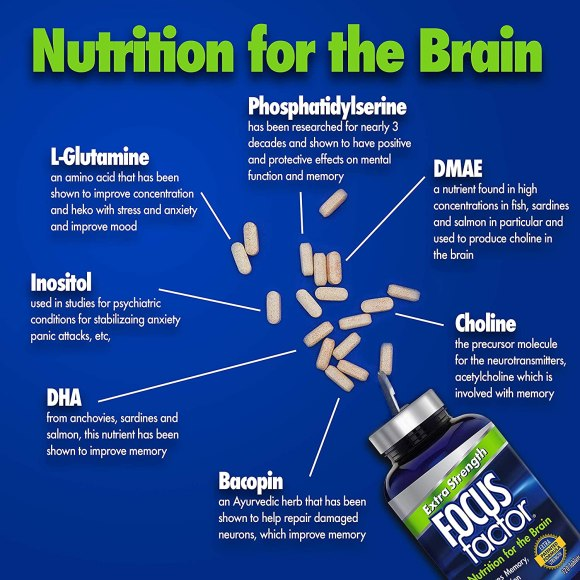 Focus Factor Nutrition Facts