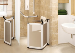 Wetrooms for the less able