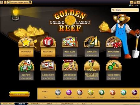Golden Reef Casino Review: Legit or a Scam? | Sister Sites Casinos