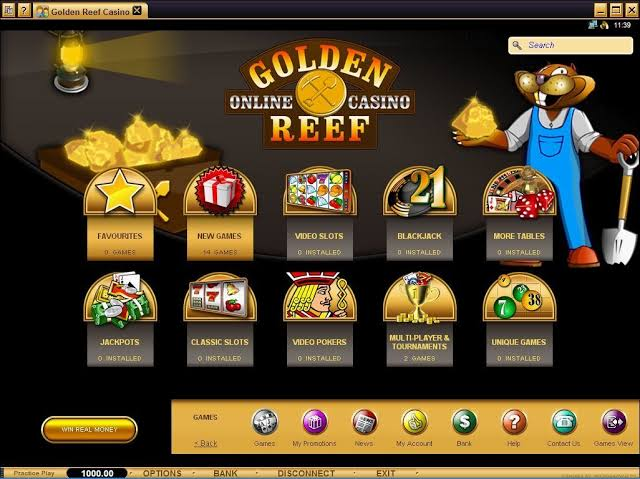 Golden Reef Casino Review: Legit or a Scam?   Sister Sites Casinos