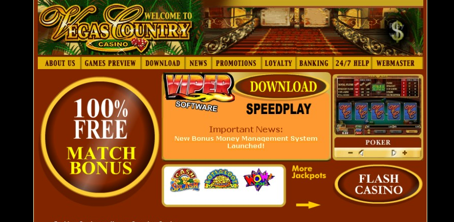 Vegas Country Casino Review – Is Legit or Scam?   Sister Casinos