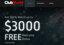 Is Club World Casino Legit