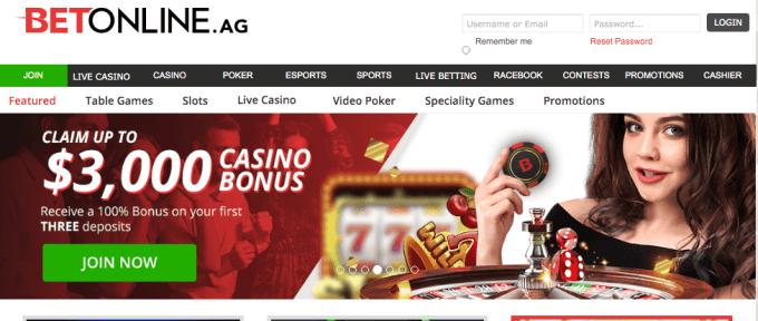 BetOnline.ag Casino Review