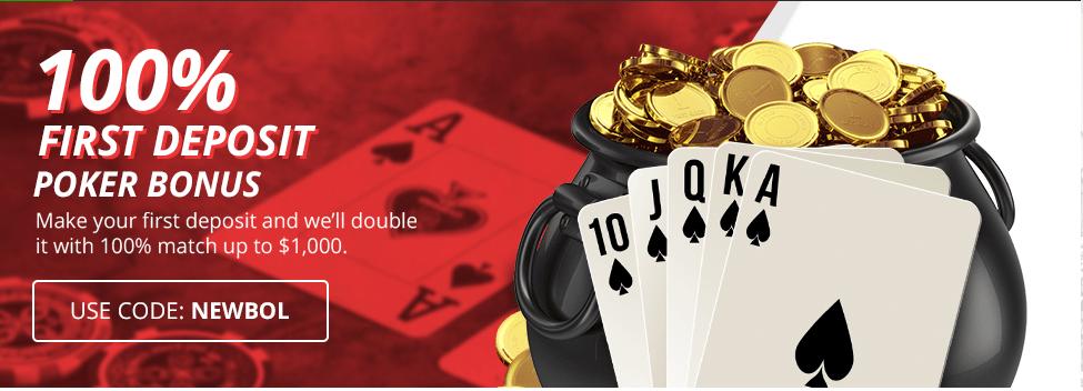 BetOnline.ag Poker Welcome Bonus