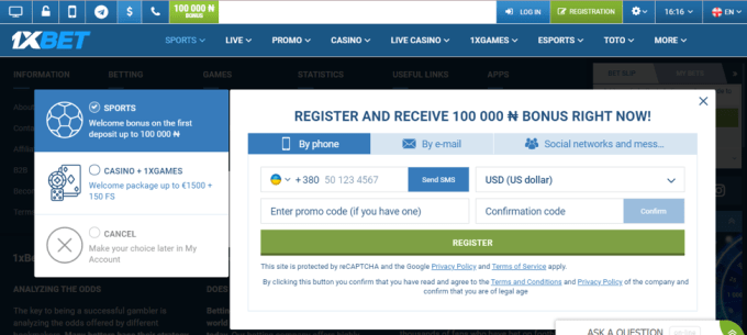 How to Get Started on 1xbet