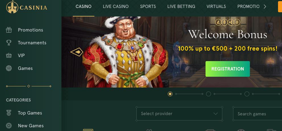 Casinia Casino Review: Legit or Scam?   Sister Sites
