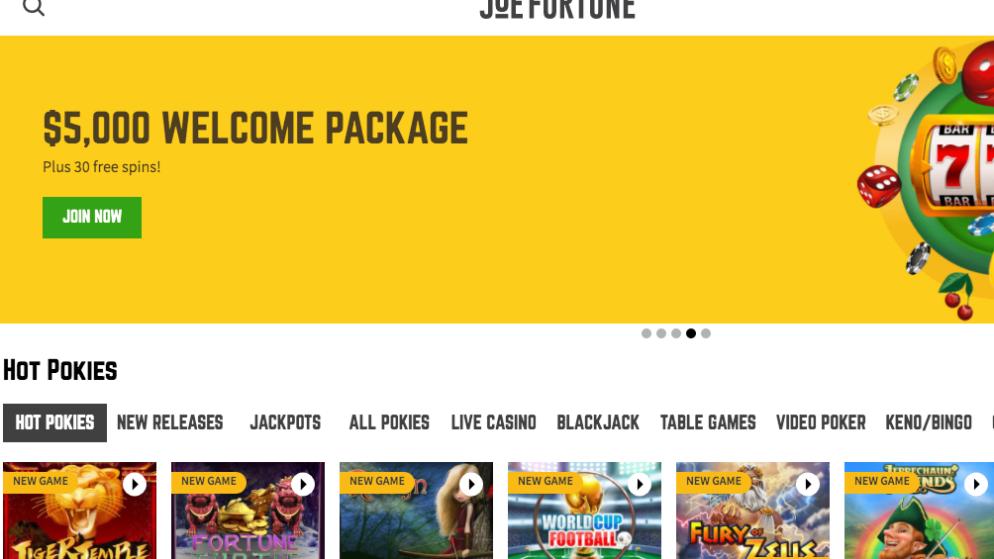 Joe Fortune Casino Review: Scam or Legit?   Sister Sites