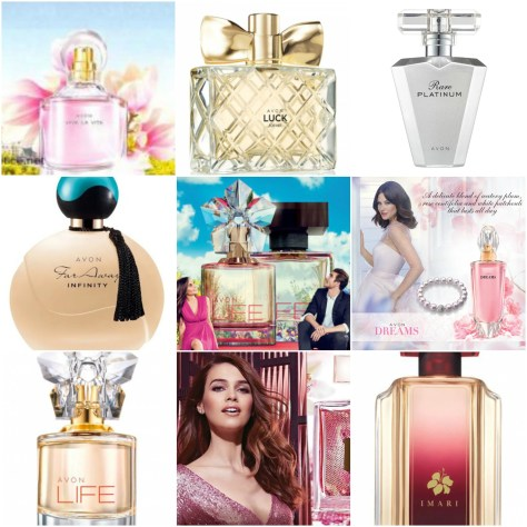 avon 2017 collage